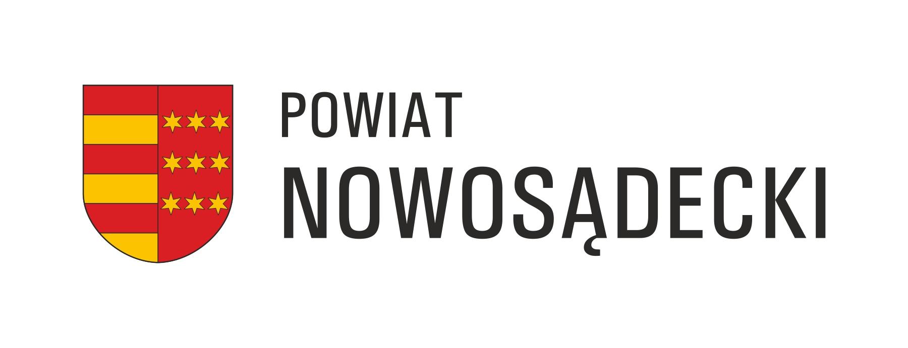 herb_powiatu_nowosadeckiego_z_napisem_po_prawej